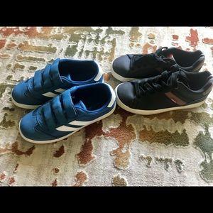 Boys size 3 shoe lot falls creek/Levi's